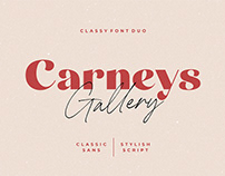 Free Carneys Gallery Font Duo