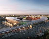 pictury for HOK / St.Louis MLS Stadium