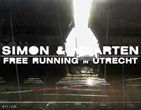 Video: Simon FreeRunning in Utrecht - Part 1