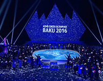 42nd CHESS OLYMPIAD / stage video mapping