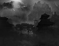 Concept art - Mysterious environment 2
