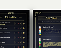 Quilmes Menu digital