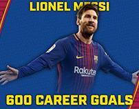 Messi (600th goal)