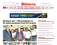 Jamaica Observer Website