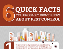 6 Quick Facts About Pest Control Infographic