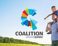 Refonte site web - Coalition Avenir Québec