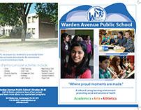 Warden Avenue Brochure and Logo