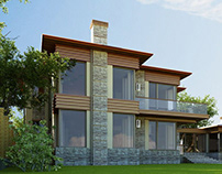 PRIVATE HOUSE architecture and design 450 м² 2012