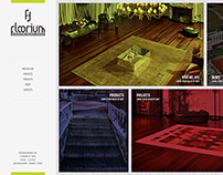 Floorium Corporate Website, 2014