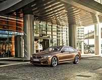 BMW M4 Coupe 3D CGI
