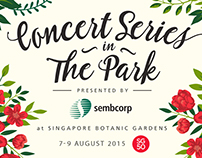 Concert Series in The Park