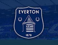 Everton FC - Logo Rebranding