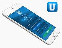 Scholly U recruiting service IOS app. design