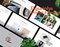 Figurinha - Fashion & Minimal Presentation Template