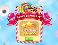Candy game UI kit
