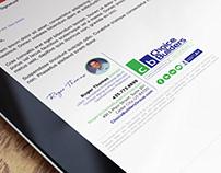Custom HTML Email Signature for a Custom Home Builder