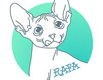 Meow! Rafa Panissa's baby