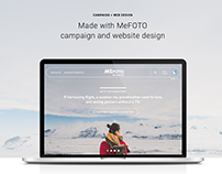 Made with MeFOTO - Web UI/UX