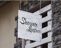 """Разработка фир стиля для студии кожи  """"Sheynin Leather"""""""