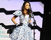 Trajes típicos - Miss Terra Brasil