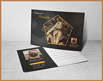 Photography Post Card Template