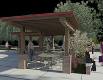 Chick-fil-A DTO Outdoor Seating Design