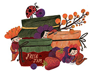 Forest friends - Jams and Berries