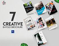 7 creative bi-fold brochure