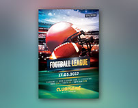 Football League Flyer