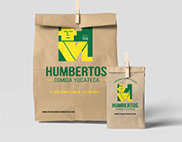 HUMBERTOS RESTAURANT IDENTITY REDESIGN