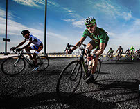 Kuwait Cycling - The Race .