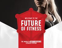 Kubex Fitness - branding for new generation of gyms