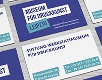 Museum of printing arts. Leipzig | Concept