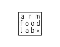 visual identity for ARM FOOD LAB