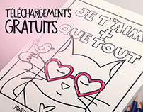 Jaws le chat (pirate) La Saint-Valentin 2017