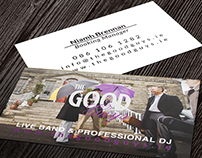 Business Cards, The Good Guys Wedding Band