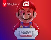 """Campaña gráfica social - """"NO ES UN JUEGO"""""""
