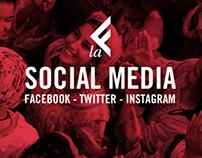LAEFFE TV Social strategy