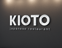 """KiOTO"" restaurant branding"