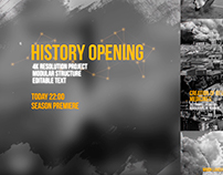 History Opening (After effects template)