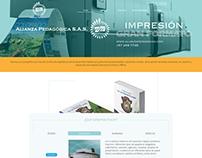 Alianza Pedagógica Web Design