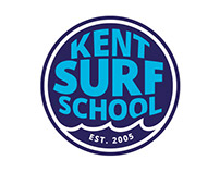 Kent Surf School Brand and Website
