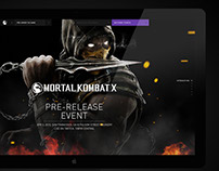 Mortal Kombat X - UI Motion Graphics