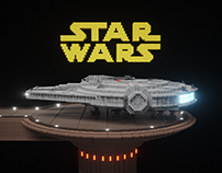 StarWars in MagicaVoxel