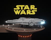 StarWars in MagicaVoxel