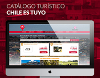 Catálogo Turístico Chile es  Tuyo