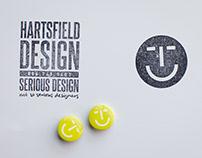 Hartsfield Design - rebranded identity system