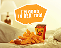 Burger King - Chicken Fries India Launch