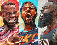 NBA Illustrations [2017/18] Finish Line - Vol. 2