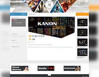 Kanon Gaming website
